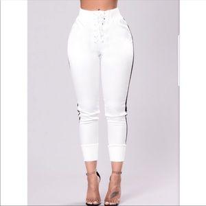 Pants - NEW. Fashion nova sexy track pants💕